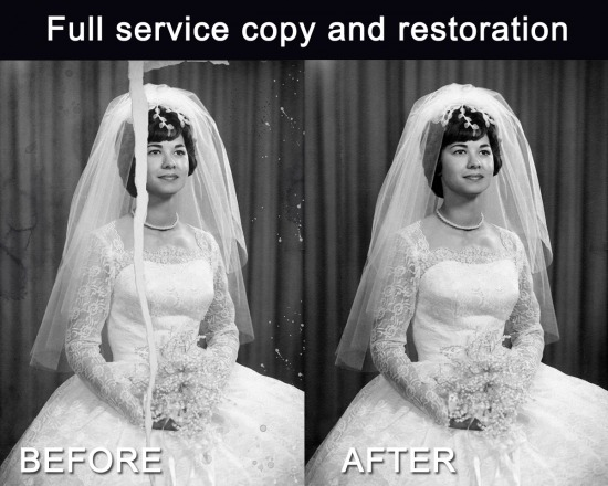 Graphic Design and Copy & Restoration