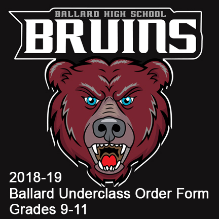 Ballard High School Underclass Order Form