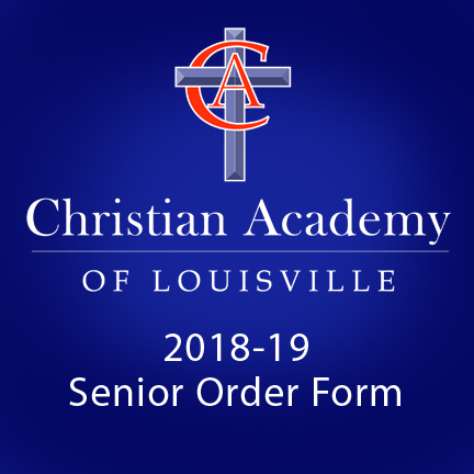 Christian Academy Senior 2018-19 Order Form
