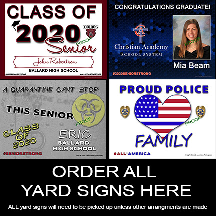 ORDER ALL 2020 Yard Signs HERE